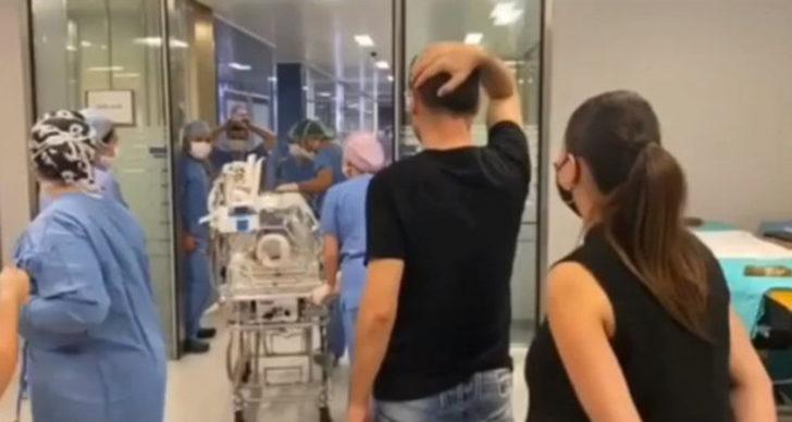 Sinan Özen'in 8 aylık kızı 7. kez ameliyata alındı