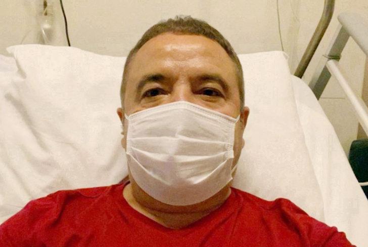 Koronavirüse yakalanan Başkan Böcek, 2 aydır hastanede tedavi görüyor