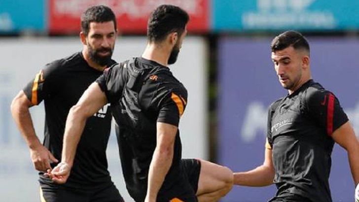 Galatasaray, Alanyaspor maçı hazırlıklarını sürüyor