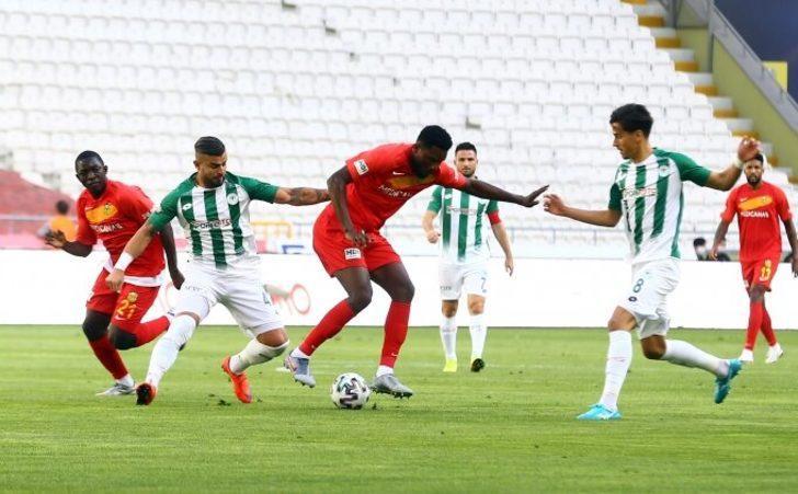 ÖZET | Konyaspor - Yeni Malatyaspor: 1-1