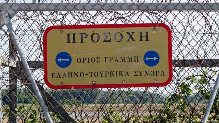 Yunanistan'dan Meriç kıyısına yeni tel örgü