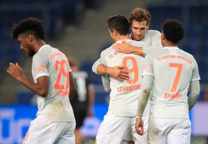 Bayern Münih, Bielefeld'i 4-1'le geçti