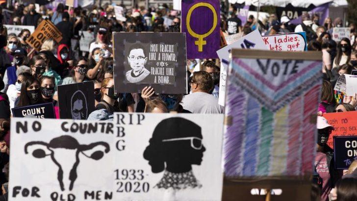 Kadınlardan Trump'a Hem Karşıt Hem Destek Eylemleri