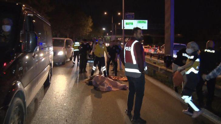 Esenler'de korkunç olay! Yol kenarında genç kadını öldürüp intihar etti