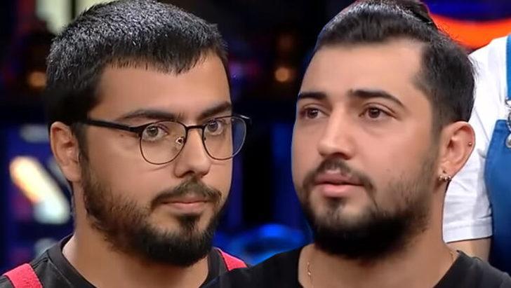 MasterChef Türkiye'de Serhat ve Uğur'un ezik atışması