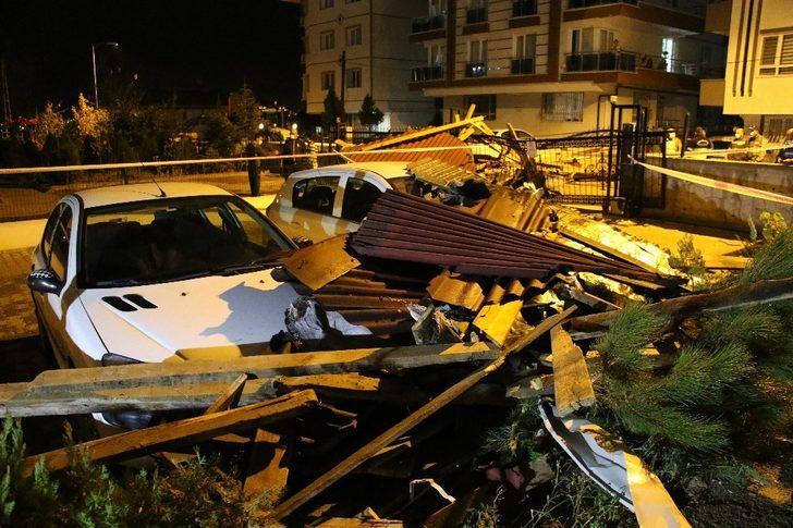 Ankara'da fırtına, yağmur ve dolu hayatı olumsuz etkiledi