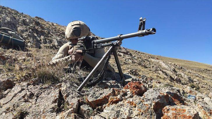 Barış Pınarı bölgesine taciz ateşi açan PKK/YPG'li 3 terörist etkisiz hale getirildi