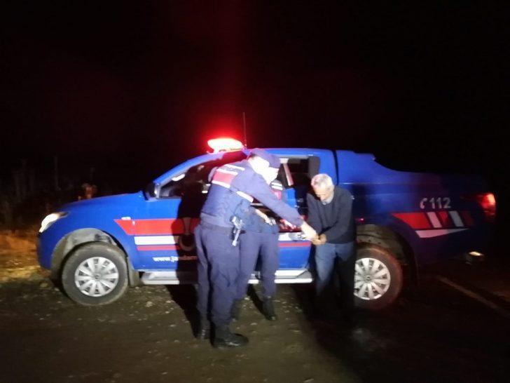 Karabük'te mantar toplamak girdiği ormanda kaybolan şahıs 4 saat sonra bulundu
