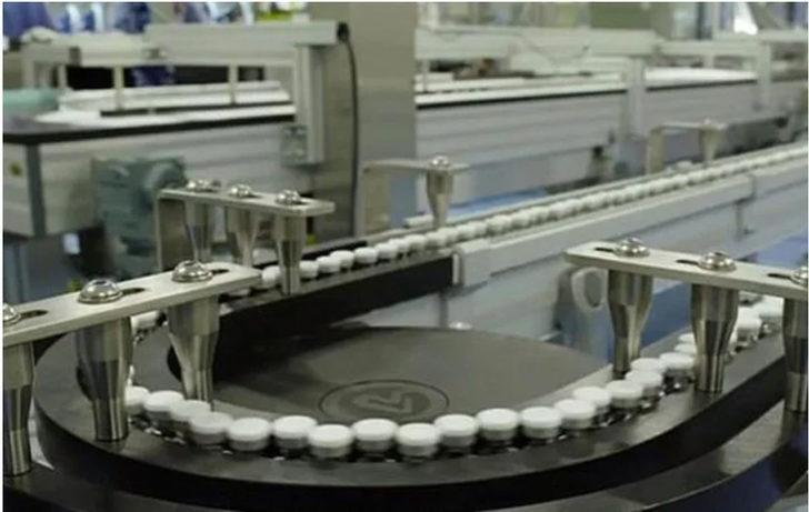 Pfizer ile BioNTech'in geliştirdiği aşı seri üretim bandında! Dünyayı umutlandıran görüntü