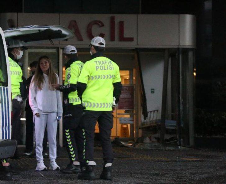 Şişli'deki hastanede akılalmaz kaza
