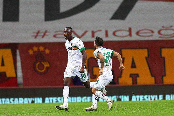 ÖZET   Galatasaray-Alanyaspor: 1-2