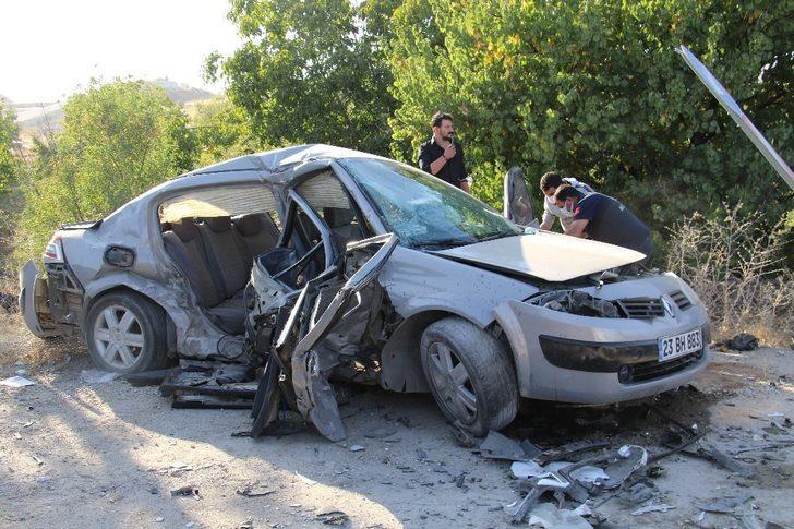 Elazığ'daki kazada 2 kişi hayatını kaybetti