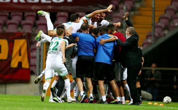 Alanyaspor, Galatasaray karşısında ilki yaşadı