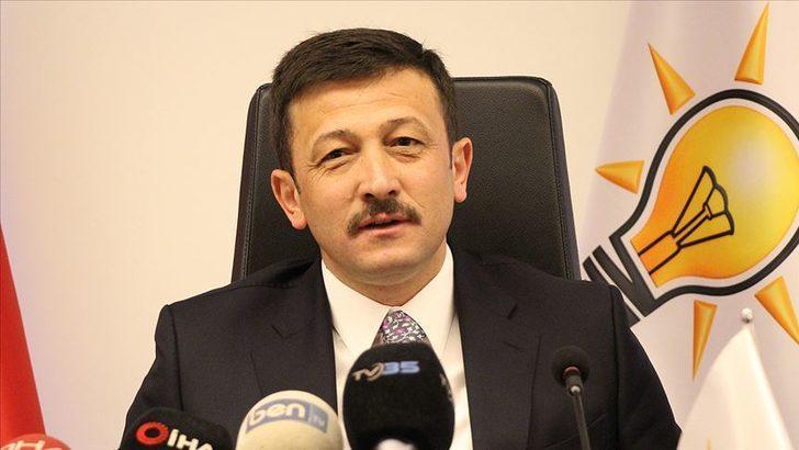 AK Parti Genel Başkan Yardımcısı Hamza Dağ koronavirüse yakalandı!