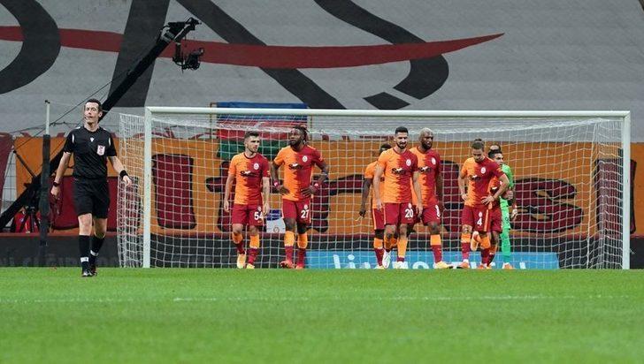 Galatasaray galibiyete hasret