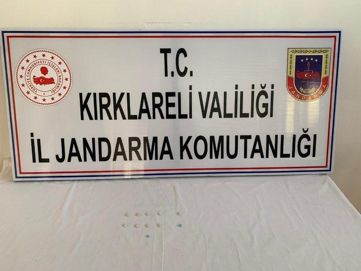 Kırklareli'de uyuşturucu operasyonu: 1 gözaltı