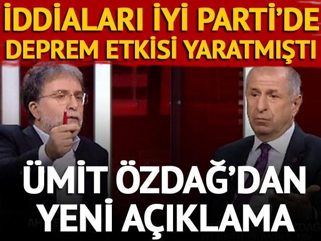 Ümit Özdağ'dan Akşener'e yanıt!
