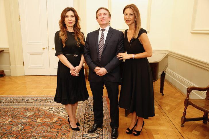 Morris Associates Sanat Oluşumunun Türkiye'ye giriş tanıtım resepsiyonu gerçekleştirildi