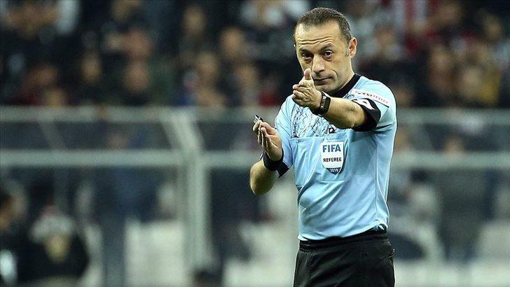 Fenerbahçe - Trabzonspor maçını Cüneyt Çakır yönetecek