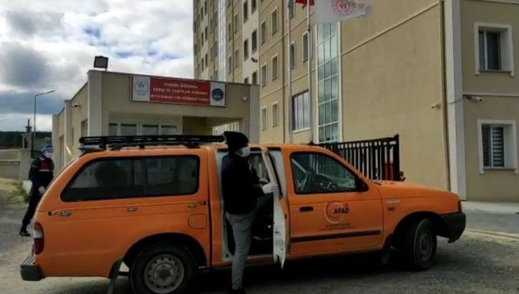Karantinadaki hasta şehirlerarası otobüste yakalandı!