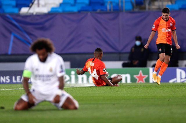 Real Madrid 2-3 Shakhtar Donetsk (Maç sonucu)