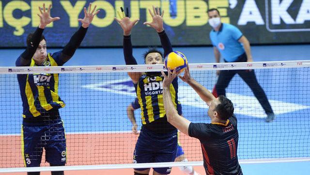 Fenerbahçe HDI Sigorta - Galatasaray HDI Sigorta: 3-1