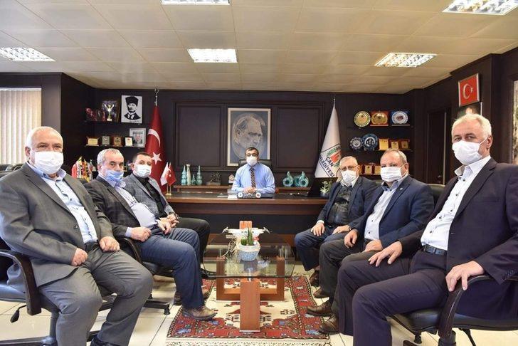 Başkan Bülent Öz, STK Başkanlarıyla aylık olağan toplantısını gerçekleştirdi