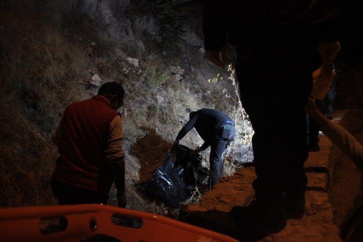 Kayseri'de dehşet! Başına taşla vurup öldürdü, kayalıklardan atıp üzerini taşla örttü