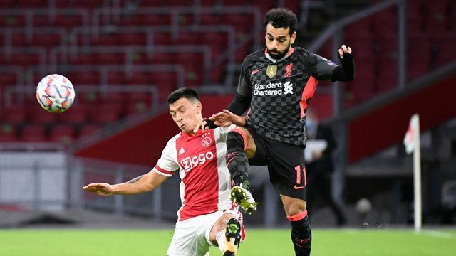 ÖZET   Ajax - Liverpool maç sonucu: 0-1