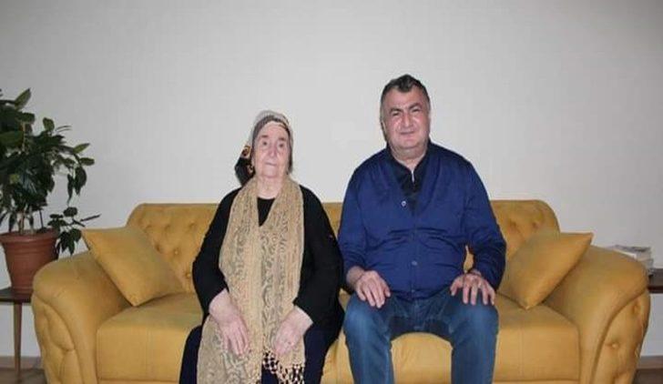 Başkan Kassanov'dan şehit annesine ziyaret