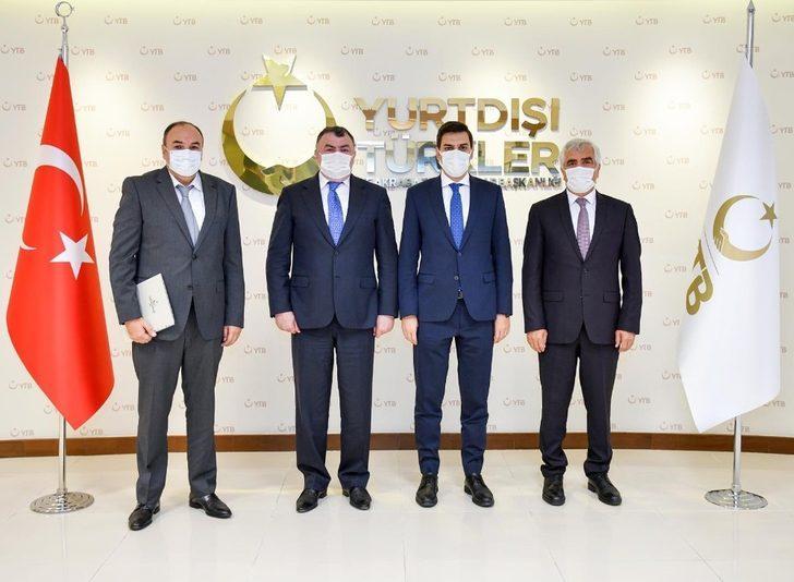 DATÜB, YTB Başkanı Eren ile bir araya geldi