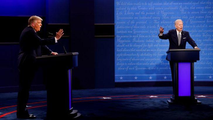 Trump ve Biden Bu Akşam Son Kez TV'de Karşı Karşıya Gelecekler