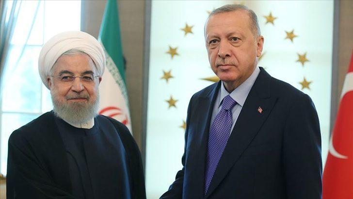 Cumhurbaşkanı Erdoğan, İran Cumhurbaşkanı Ruhani ile telefonda görüştü