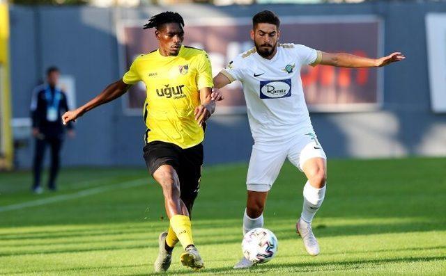 ÖZET   İstanbulspor - Akhisarspor: 2-2