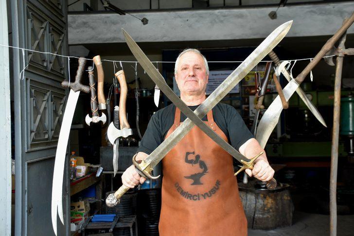 Tarihi dizi ve filmler, kılıç satışlarını yüzde 500 artırdı