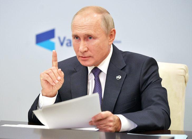 Putin: Dağlık Karabağ'da Türkiye ile farklı görüşlerimiz var!