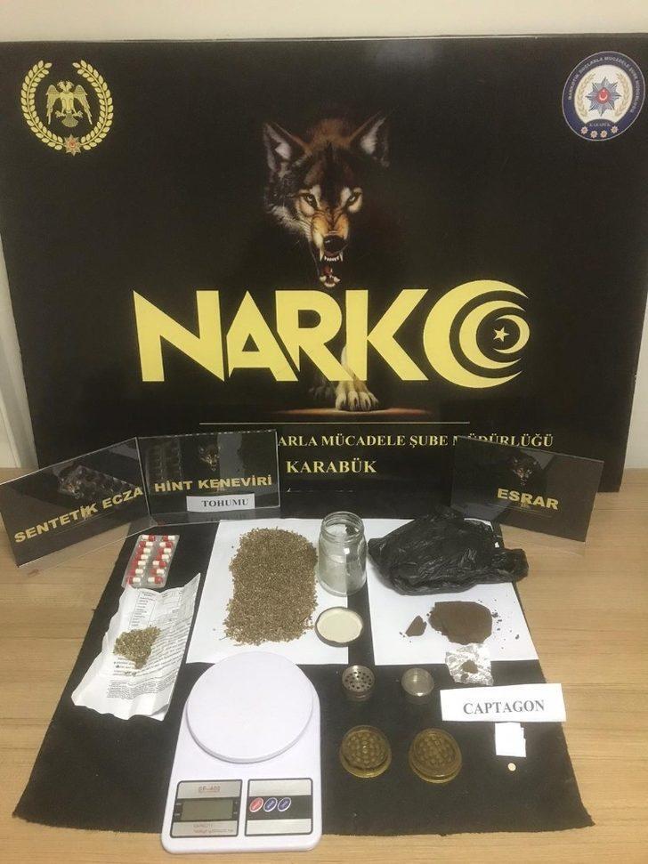 Karabük'te uyuşturucu operasyonunda 1 kişi tutuklandı