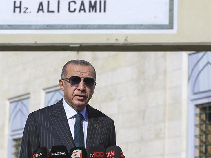 Cumhurbaşkanı Erdoğan'dan artan koronavirüs vakalarıyla ilgili açıklama