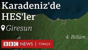 Karadeniz'de HES'ler: Sel felaketinin ardından Giresun ve Dereli