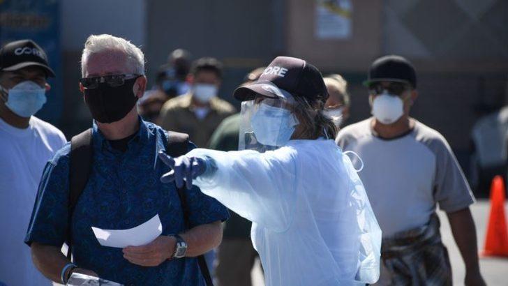 ABD'de Son Bir Haftada 500 Bin Kişi Virüse Yakalandı