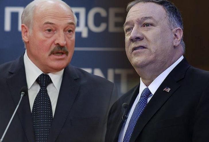 Gündemi sarsan iddia! Lukaşenko ve Pompeo arasında Rusya polemiği çıktı