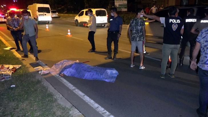 Antalya'da dehşet! Üst geçitten atladı, otomobilin altına kalıp öldü