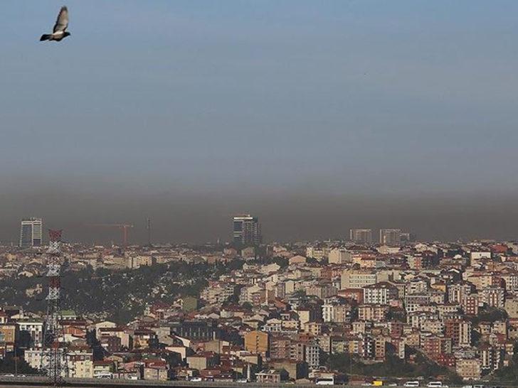 İstanbul'da hava kirliliği yüzde 12 arttı! İşte kirliliğin yoğun olduğu bölgeler