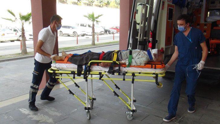 Evde dövülerek, kemikleri kırılmış bulunan yaşlı adam kurtarılamadı