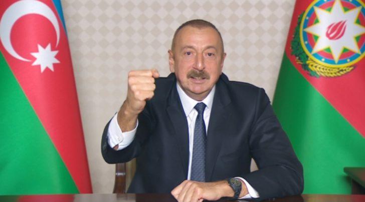 Aliyev: Kelbecer ve Gubatlı'nın bir kısmı işgalden kurtarıldı