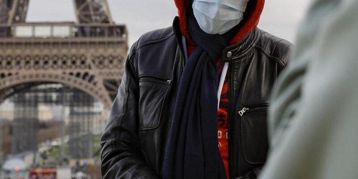 Fransa'da günlük Kovid-19 vaka sayısı son 24 saatte 52 bin 10 arttı