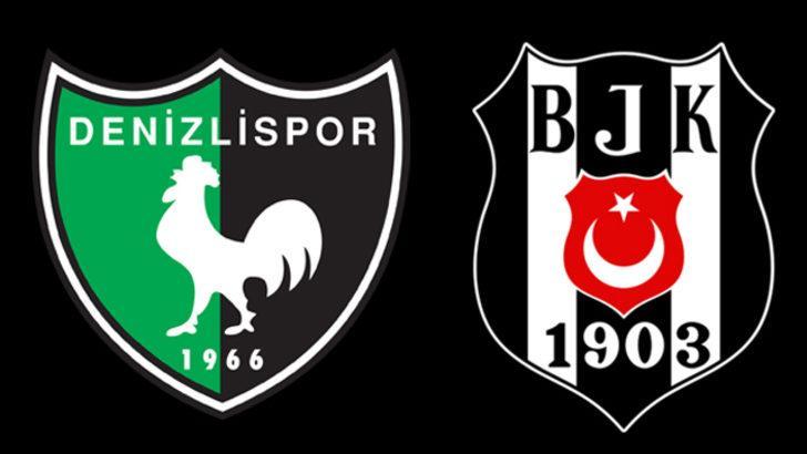 Denizlispor-Beşiktaş maçı ne zaman? Denizlispor-Beşiktaş maçı hangi kanalda, saat kaçta yayınlanacak? Denizlispor-Beşiktaş muhtemel 11'ler