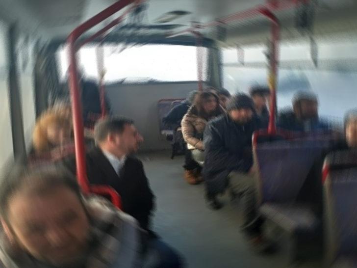 Halk otobüsünde cinsel saldırı iddiası! Şoför tarafından yakalandı