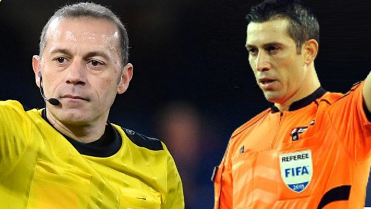 UEFA'dan Cüneyt Çakır ve Ali Palabıyık'a Devler Ligi'nde görev