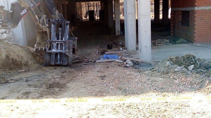 Tekirdağ'da acı olay! Forkliftin altında kalan işçi hayatını kaybetti